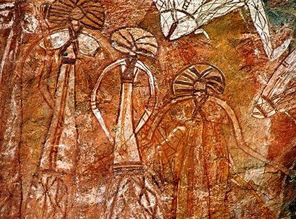 Amazon Com Aboriginal Rock Art Art Print Posters Prints