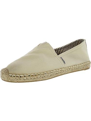 1725d5b53b Joy and Mario Women s Huntington Beige Ankle-High Canvas Slip-On Shoes - 8.5