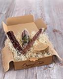 Cesta gourmet BOCATA'S ALLÁ VAMOS. El regalo especial para los más inquietos...