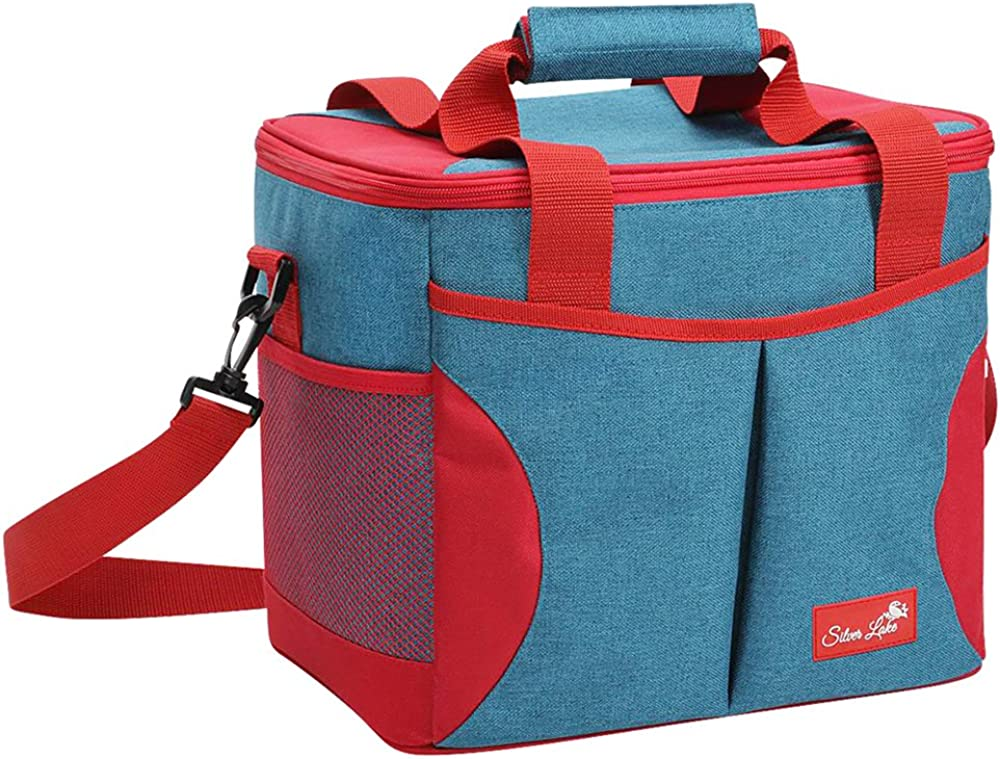 SERISIMPLE Extra Large Cooler Bag Soft Insulated Thermal Tote Bag Picnic Adult Grocery Shopping Leak Proof Liner