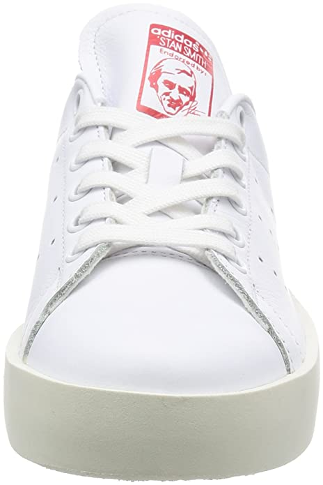 Adidas Stan Smith Bold W blanco blanco rojo:: zapatos