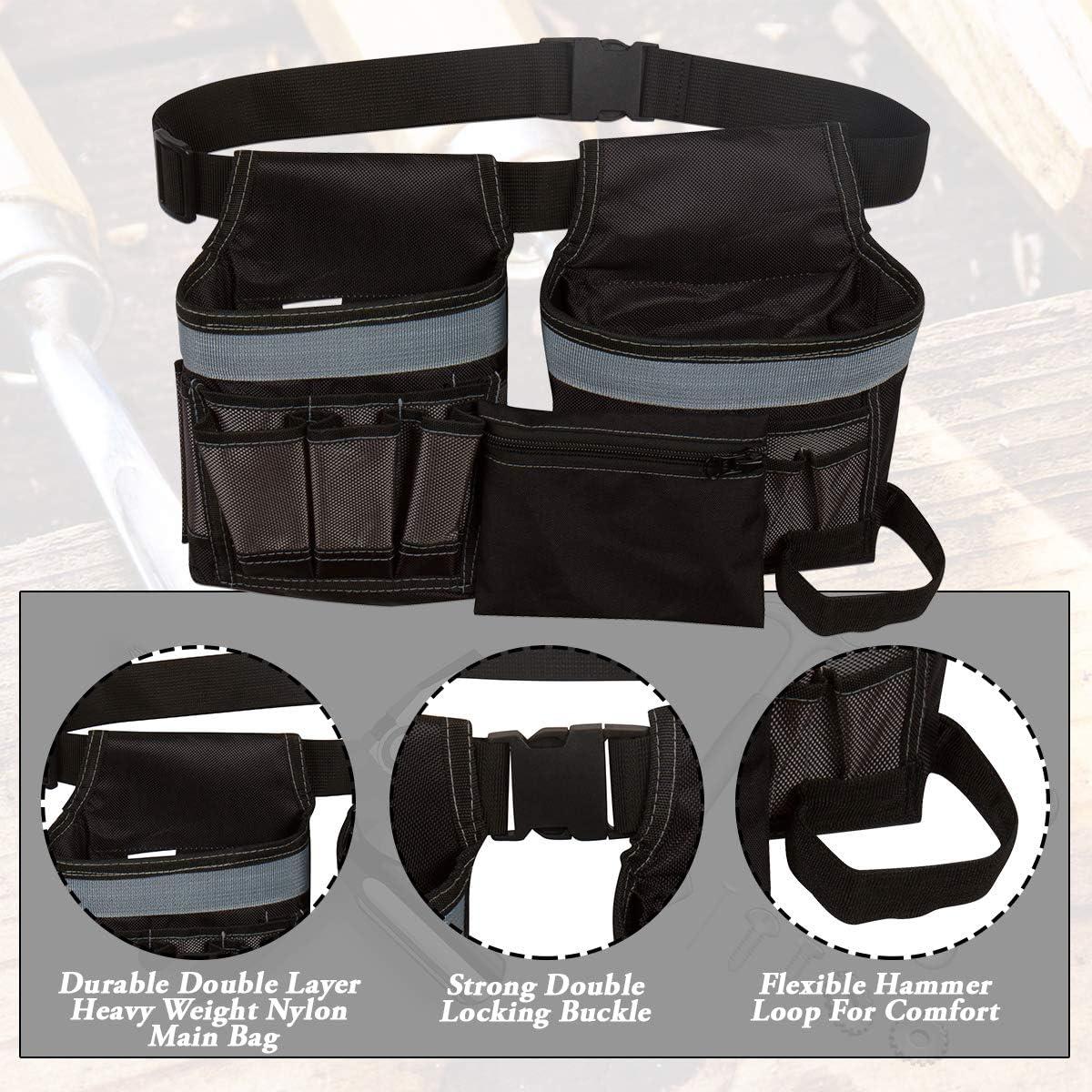 Ri/ñonera Bolsa para cintur/ón para piezas Hardware Herramientas Herramientas Herramienta de electricista Ri/ñonera para herramientas Bolsas para herramientas Bolsas para herramientas