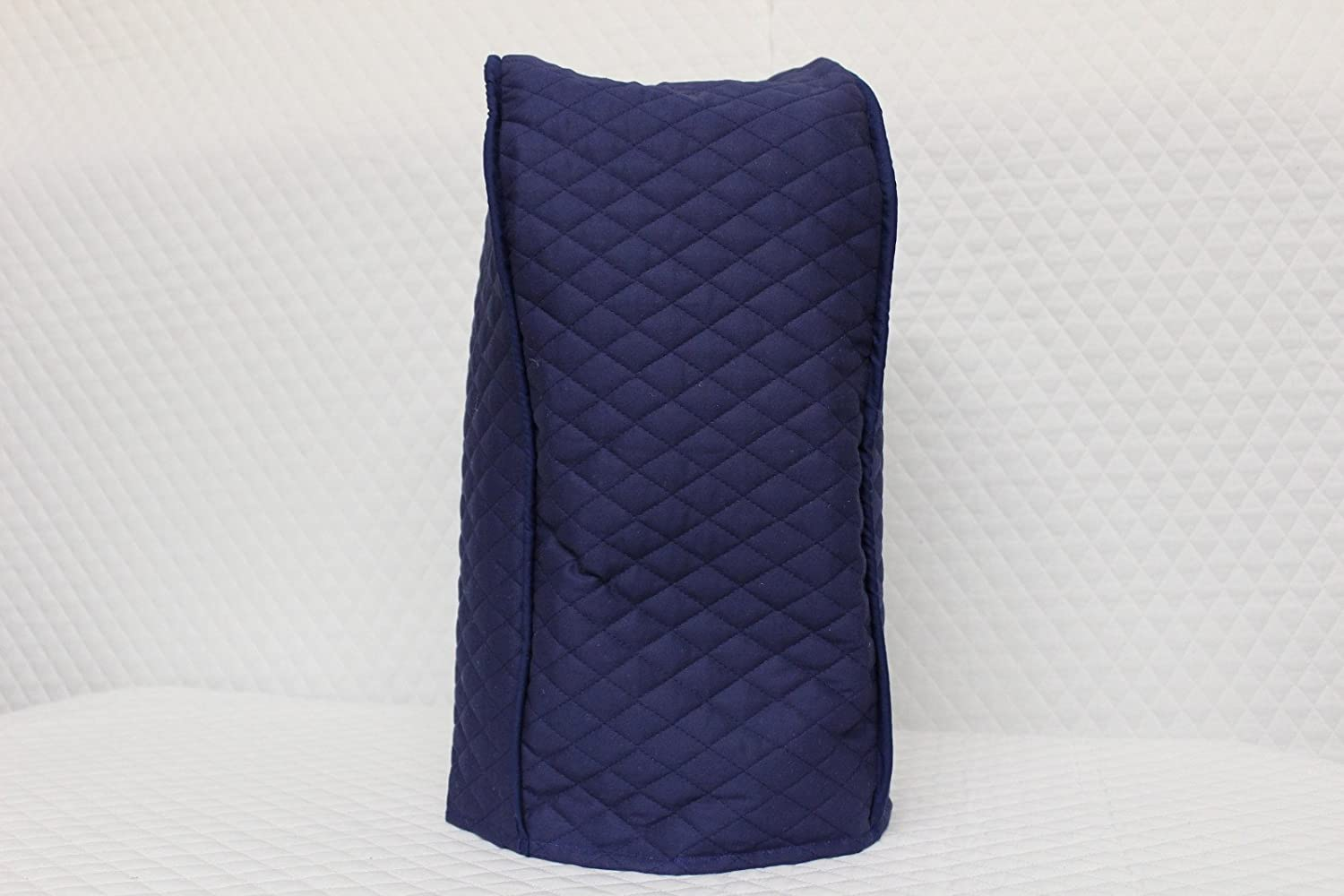 Ninja blender cover - Quilted Double Faced Cotton, Navy