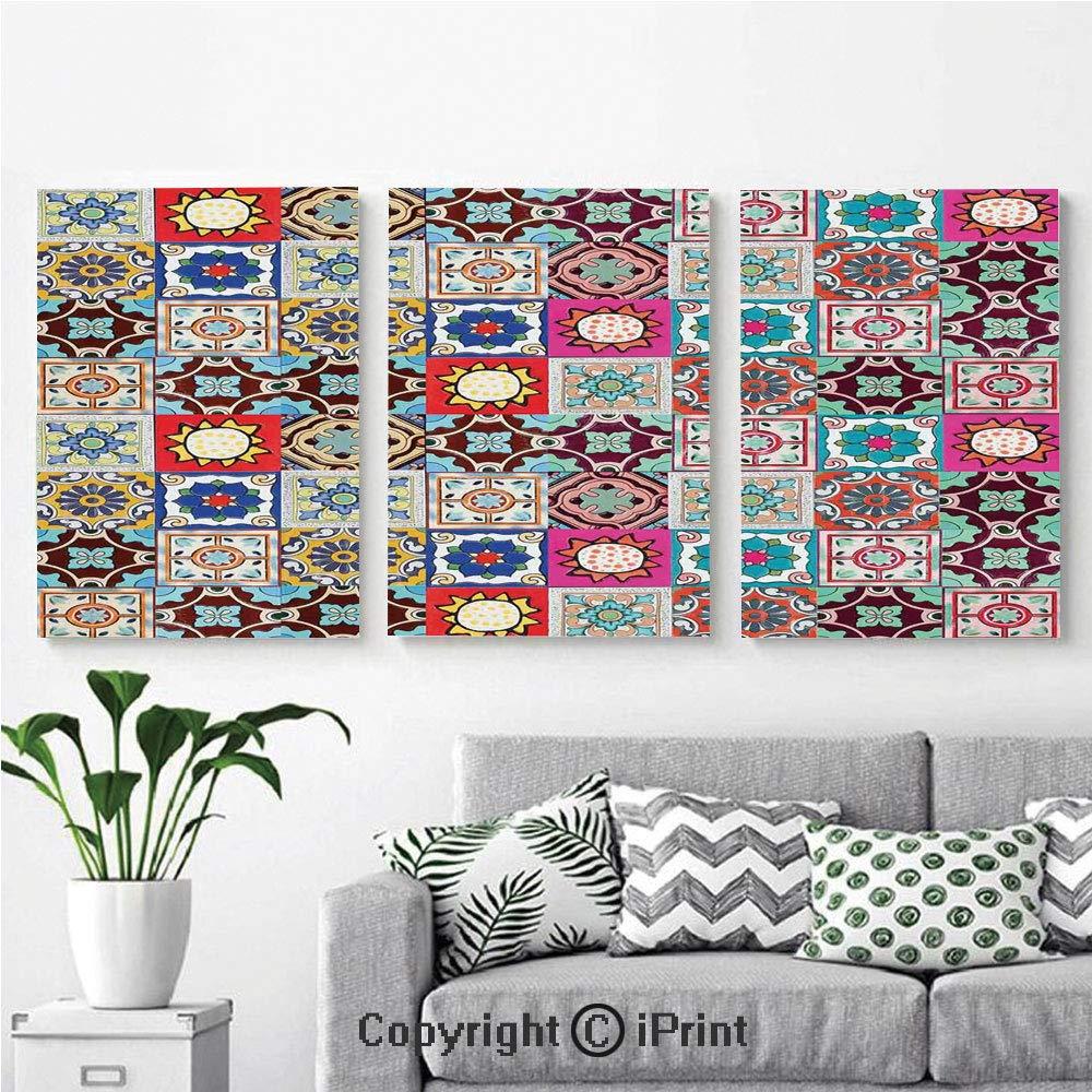 Amazon.com: Mural de pared para dormitorio, diseño bohemio ...