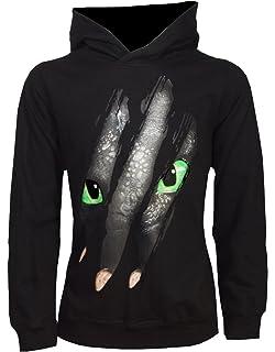 Dragons Kinder Kapuzenpullover DreamWorks OhnezahnToothless