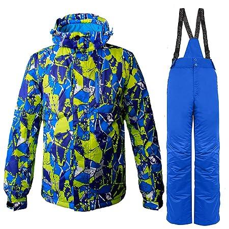 WILD SNOW Conjunto de Chaquetas y Pantalones de esquí para ...