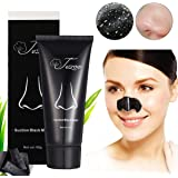 Blackhead Remover Mask (Removes Blackhead), Tezoo Black Peel off Charcoal Mask Facial Mask for Face Nose Acne Treatment Oil Control , 60 gram