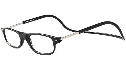 647872fd71 TBOC Gafas de Lectura Presbicia Vista Cansada - Montura Negra Graduadas + 2.50 Dioptrías Hombre Mujer