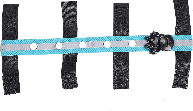 Germerse Cinturón de Luces para Cabezas de Caballo, cinturón de Seguridad Ajustable, Suministro de Deporte Ecuestre, Tira de Luces LED para Caballos, para Granja, para Montar de Noche, para Jinetes,