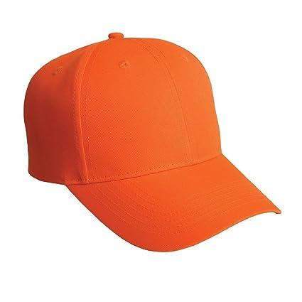 286d35275f9 MegaDeal Plain Baseball Cap Blank Hat Solid Color Velcro Adjustable -  Black
