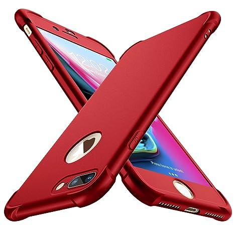 ORETECH Cover iPhone 6 6s con [2X Pellicola Protettiva Vetro