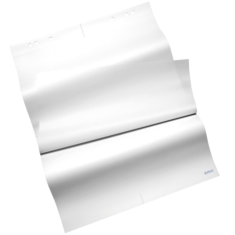 FSC Mix 68 x 99 cm,80 g//m/² blanco Blocs para rotafolio 5 unidades de 20 hojas Herlitz 10834133