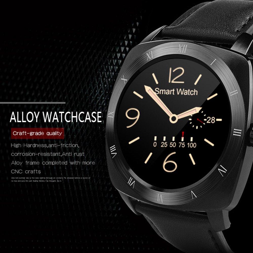 Amazon.com: DM88 Bluetooth Smart Watch Smartwatch Pedometer ...