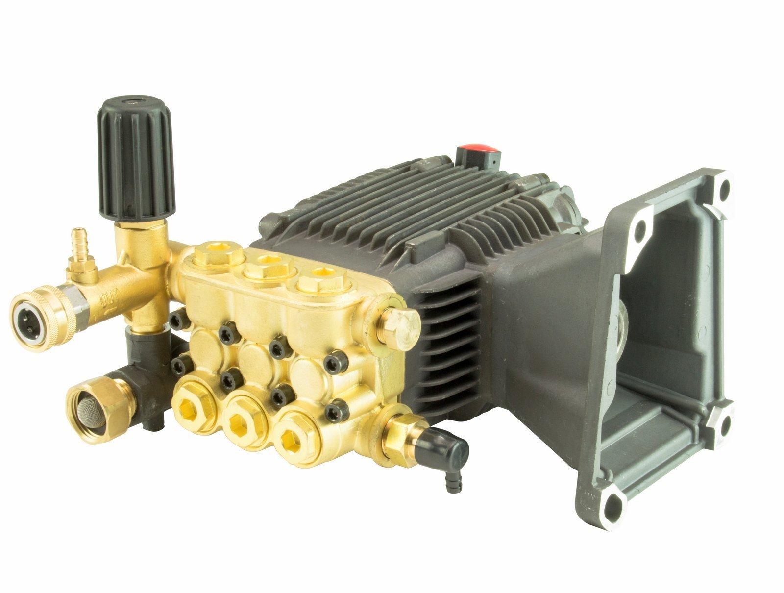 Erie Tools Triplex Pressure Washer Pump for Cat General AR, 5.7 GPM, 3200 PSI