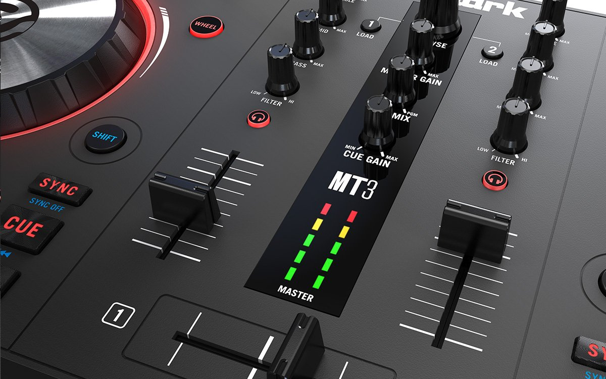 Numark Mixtrack 3 | All-in-one Controller Solution with Virtual DJ