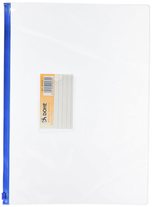 Amazon.com : BOLSA ZIPPER Fº APAISADO PVC TRANSPARENTE ...