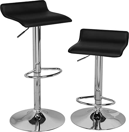 OneSpace Adjustable Bar Stools, Set of 2