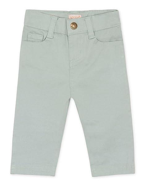 Gocco Pantalon Cinco Bolsillos, Bebés, Verde Agua, 3-6 Meses