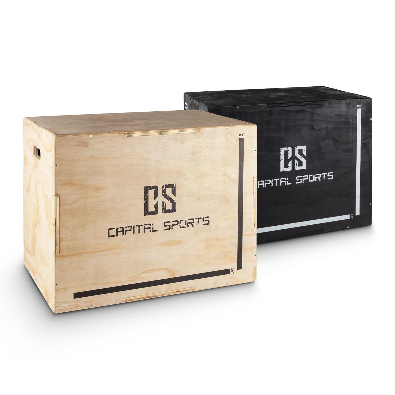 Capital Sports Shineater caja de salto pliométrica (3 alturas de 20