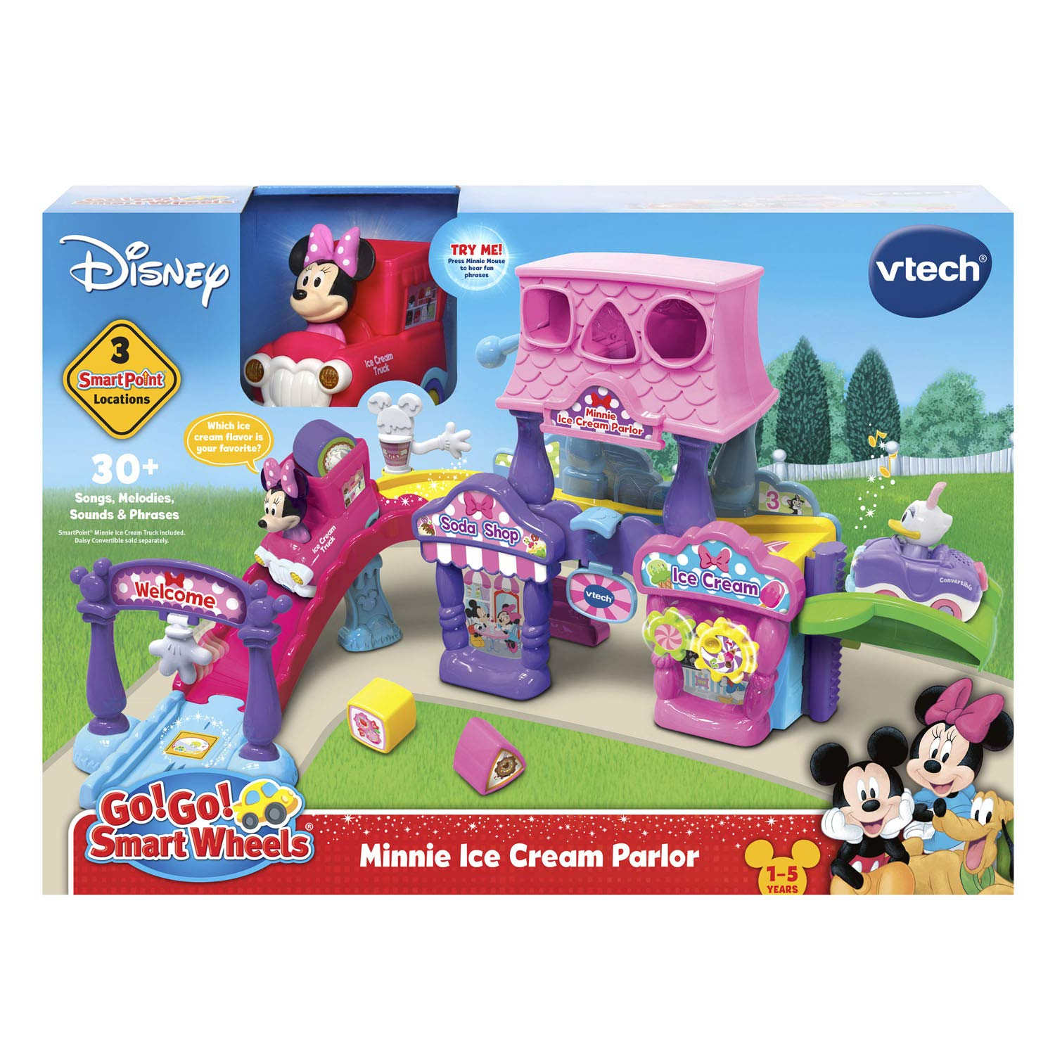 VTech Go! Go! Smart Wheels Minnie Mouse Ice Cream Parlor by VTech (Image #5)