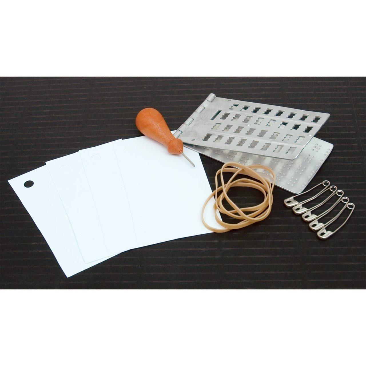 Pocket Jumbo Braille Labeling Kit