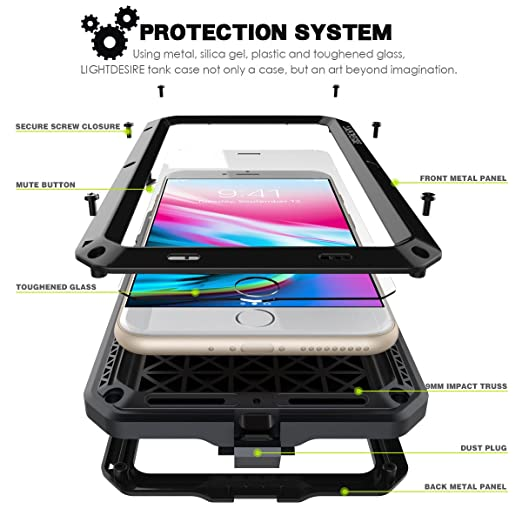 Amazon com: iPhone 7/8 Plus Case,LIGHTDESIRE [Newest