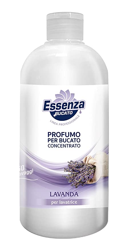 Gmc Essenza Profuma Bucato Lavanda 500 Ml Amazon It Casa E Cucina