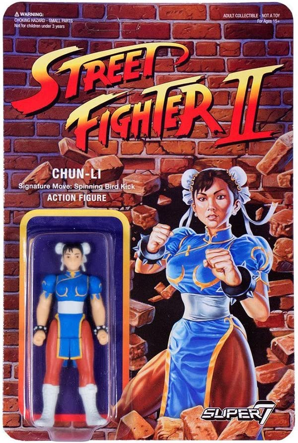 Chun-Li Street Fighter Action Figure 10 cm Collector Edition ...