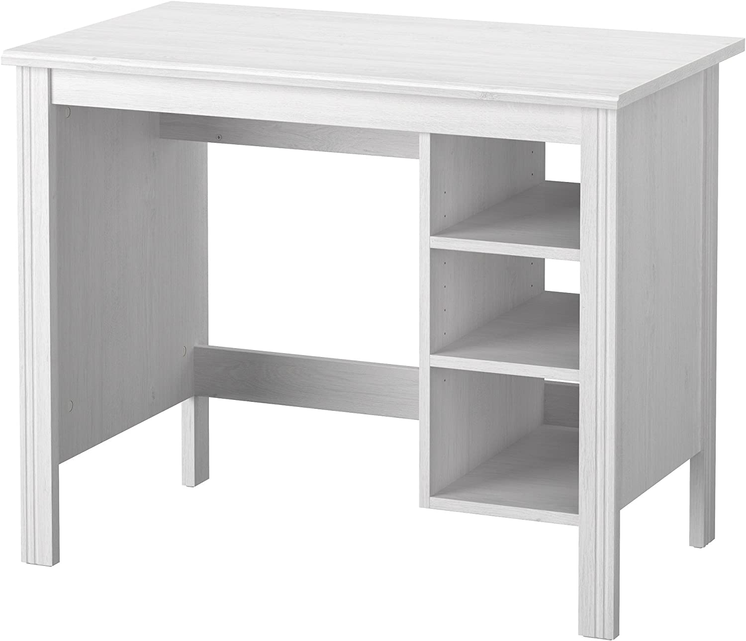 Zigzag Trading Ltd IKEA BRUSALI - Escritorio Blanco: Amazon.es: Hogar