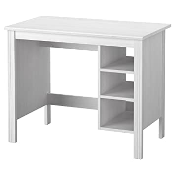 Schreibtisch weiß ikea mädchen  Amazon.de: IKEA BRUSALI - Schreibtisch Weiß