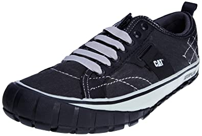 Caterpillar Cat Footwear NEDER CANVAS P713030, Baskets mode homme - Noir - V.9, 43 EU