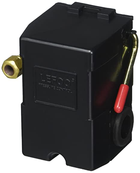New H/D Pressure switch for air compressor 95-125 w/Unloader Air Compressor With Regulator Wiring Diagram on