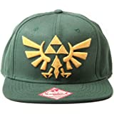 Nintendo Mütze - Zelda Kappe Grün Mit Gold-Logo [Importación Alemana]