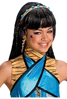 Rubies Costume Co Monster High Cleo De Nile Girls Wig (peluca)