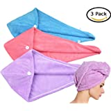 Amazon Price History for:HOPESHINE Hair Towel Twist Women's Soft Shower Towels for Hair Turban Wrap Drying Cap Great Gift for Women