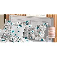 Renee DEYARCO Design # 11 Standard Size Pillow Cover 2pcs Set, Multi-Colour, REN_PC_180P_DG11_STD