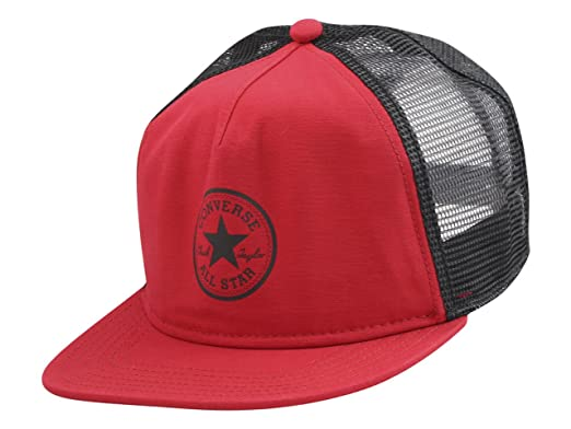 c8d1a2b5055a8 Converse All Star Chuck Taylor Core Trucker Cap Casino Baseball Hat (One  Size)