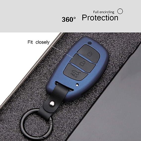 Amazon.com: ontto - Funda protectora para llaves con llavero ...