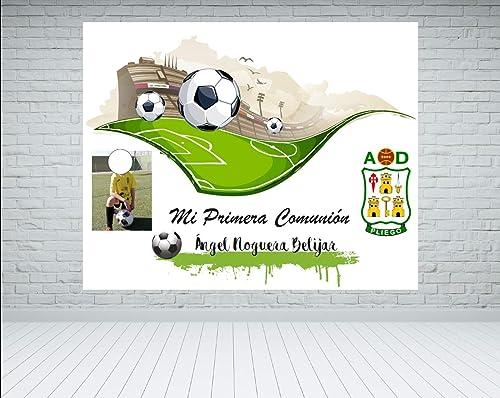 Fondo photocall Comunión Fútbol: Amazon.es: Handmade