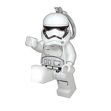 LEGO Lights IQLGL-KE94 - Llavero con luz del Personaje Stormtrooper de Star Wars Episodio VII