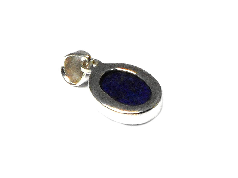 Afghanistani Lapis Lazuli Argent sterling 925/Pendentif en pierre/ Llpt1101173 /