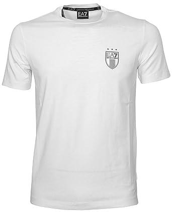 27ad20b1581a - EA7 emporio armani EA7 T-shirt - 5P206 273737 White - White - Small   Amazon.co.uk  Clothing