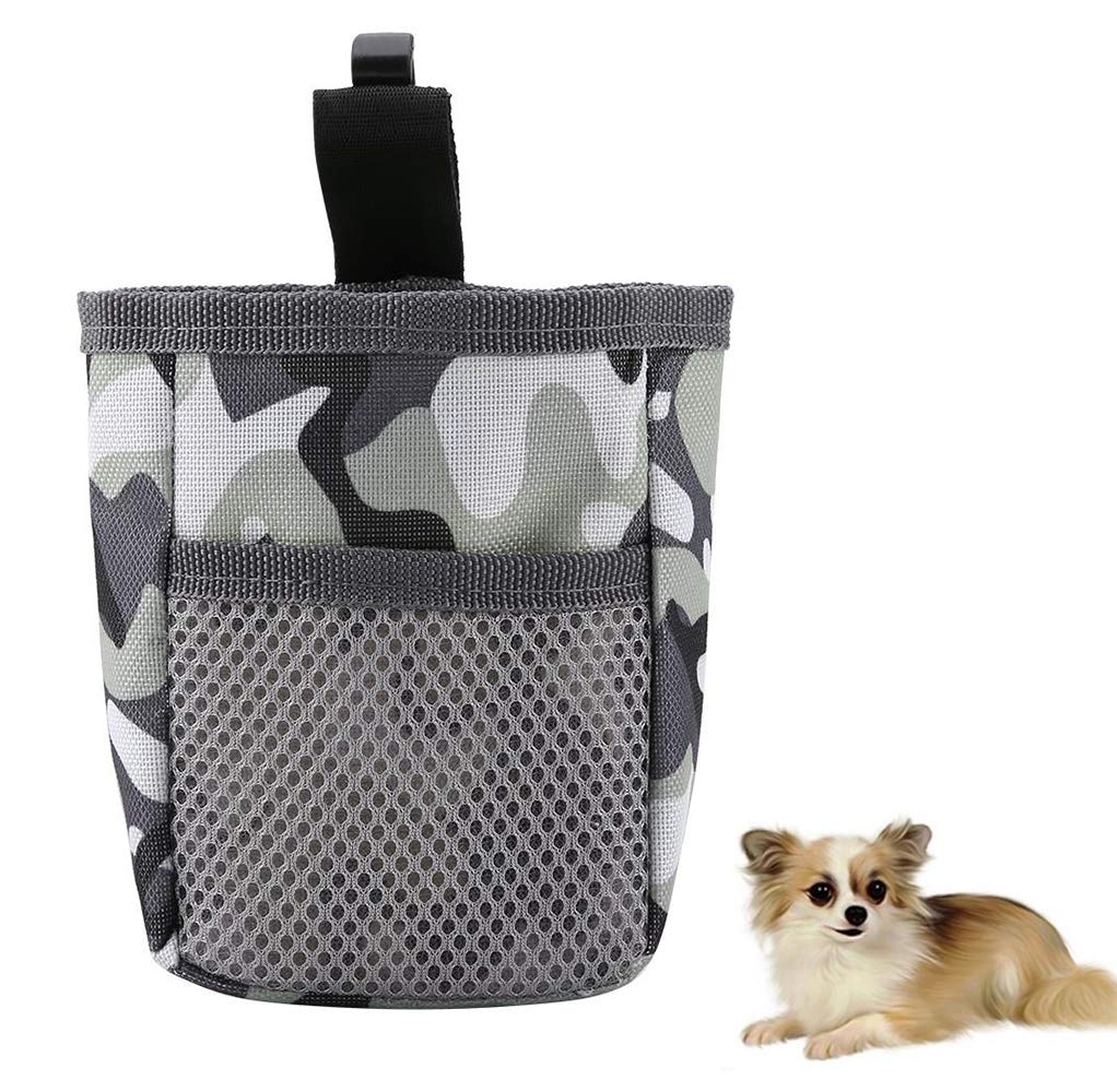 Pet Food Treat Storage Bag Snack Training Obedience Waist Pouch Multifunctional Portable Pet Dog Outdoor Training Supplies, Sturdy, Durable and Corrosion Resistant