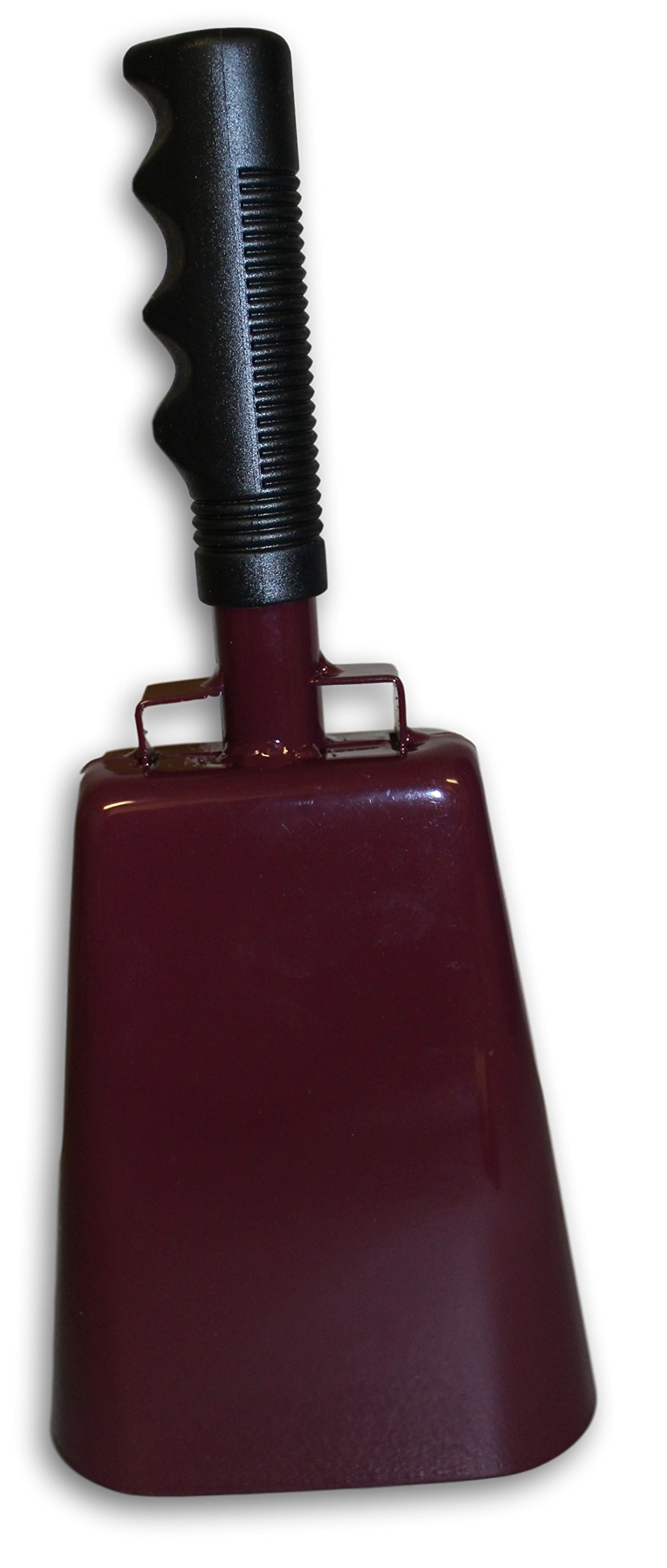 Toys+ Large 11 Inch Cowbell with Handle Maroon by Toys+