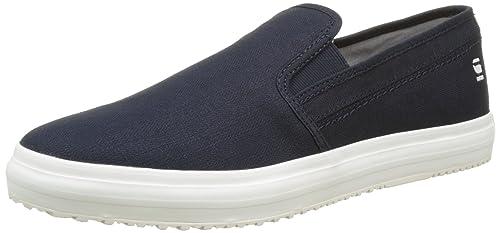 G-Star Kendo Slip-On, Zapatillas para Hombre, Azul (Dark Navy 881), 43 EU G-Star