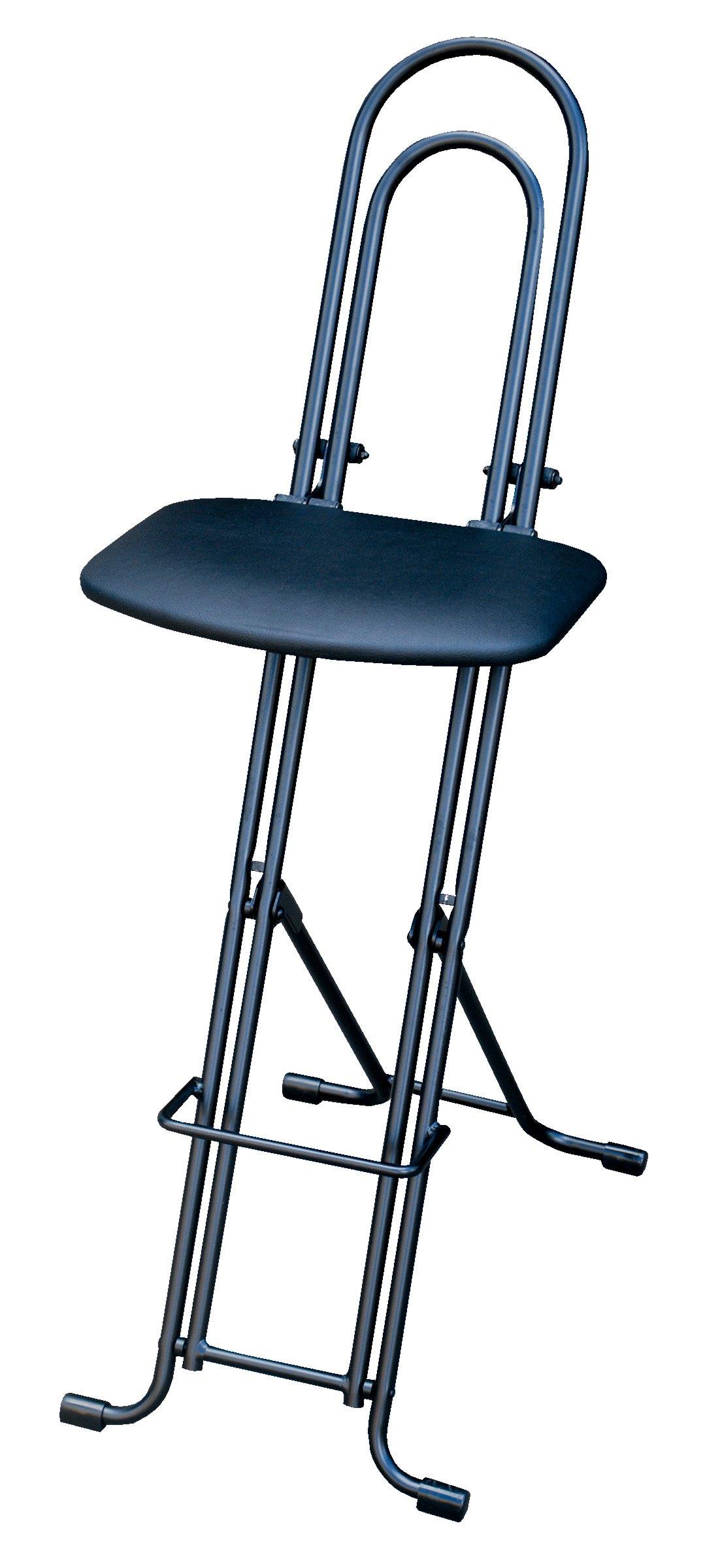 Vestil CPRO-800LP Ergonomic Worker Seat/Chair, 13-1/2'' Width, 10'' Depth, 300 lb. Capacity, 18'' - 33'' Height Range by Vestil (Image #3)