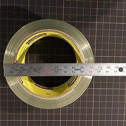 Amazon 3m スコッチ ガムテープ 梱包テープ 軽く引き出せるタイプ 48mm m カッター付 6巻パック 145dn Am 文房具 オフィス用品 文房具 オフィス用品