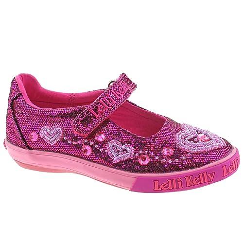 2b16475dda Lelli Kelly LK3020 (GW01) Purple Glitter Ava Dolly Shoes-29 (UK 11): Amazon. co.uk: Shoes & Bags