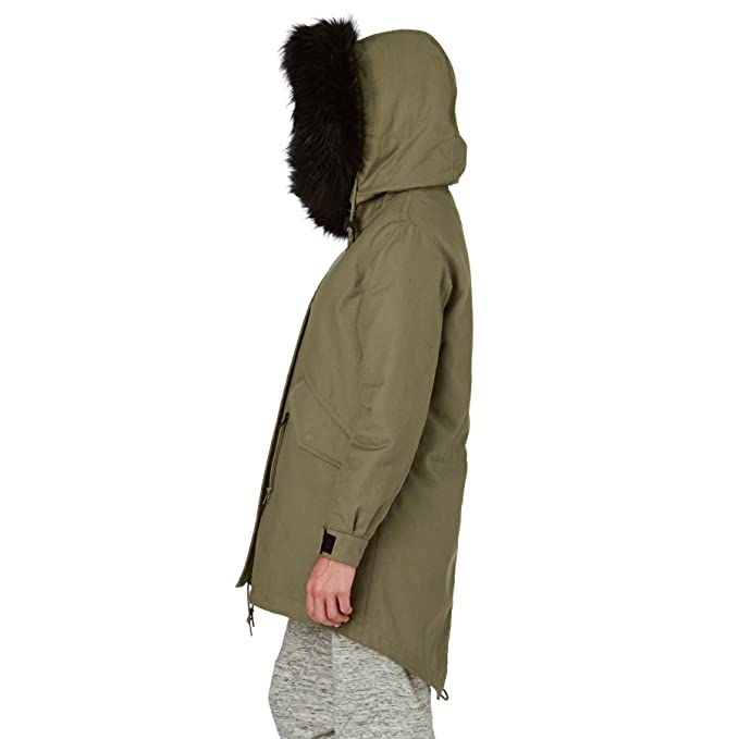 a569d4ea Converse Womens Shield Hooded Parka at Amazon Women's Coats Shop