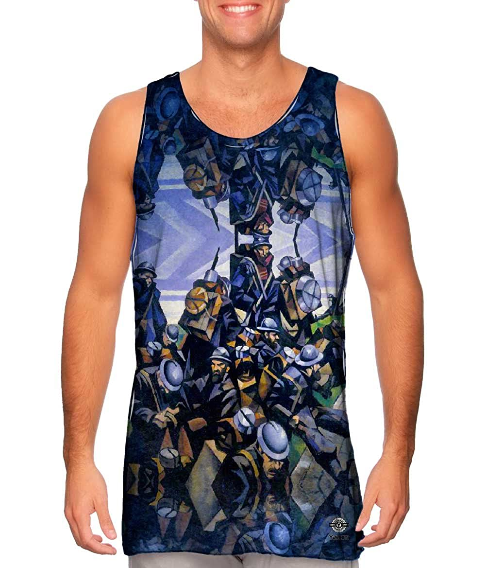 Christopher Nevinson Yizzam Mens Tank Top 2486 French.-Tshirt